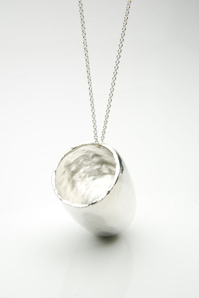Hvolf Silver Shot Necklace