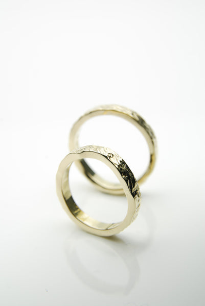Jagged Form Engagement Rings