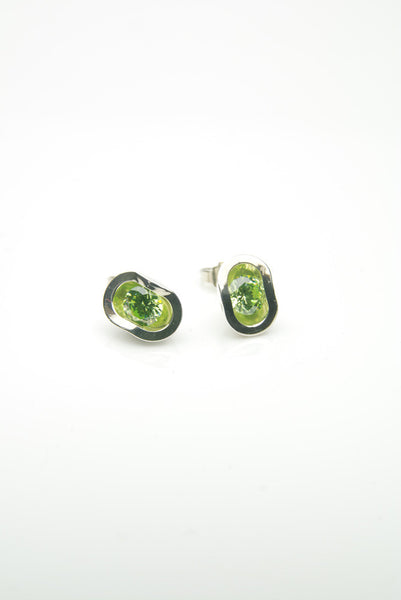 Apple-Green Ringul Earrings