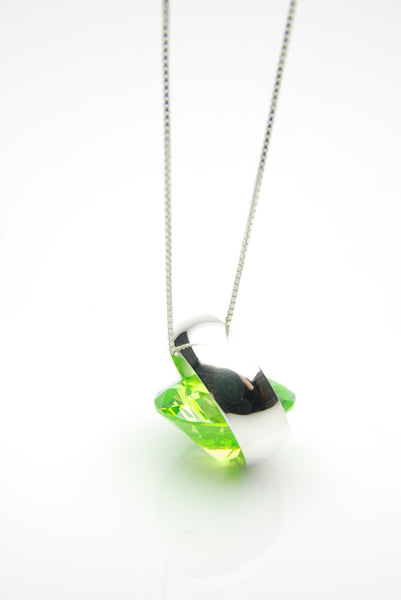 Laus Apple Green Pendant by Orr