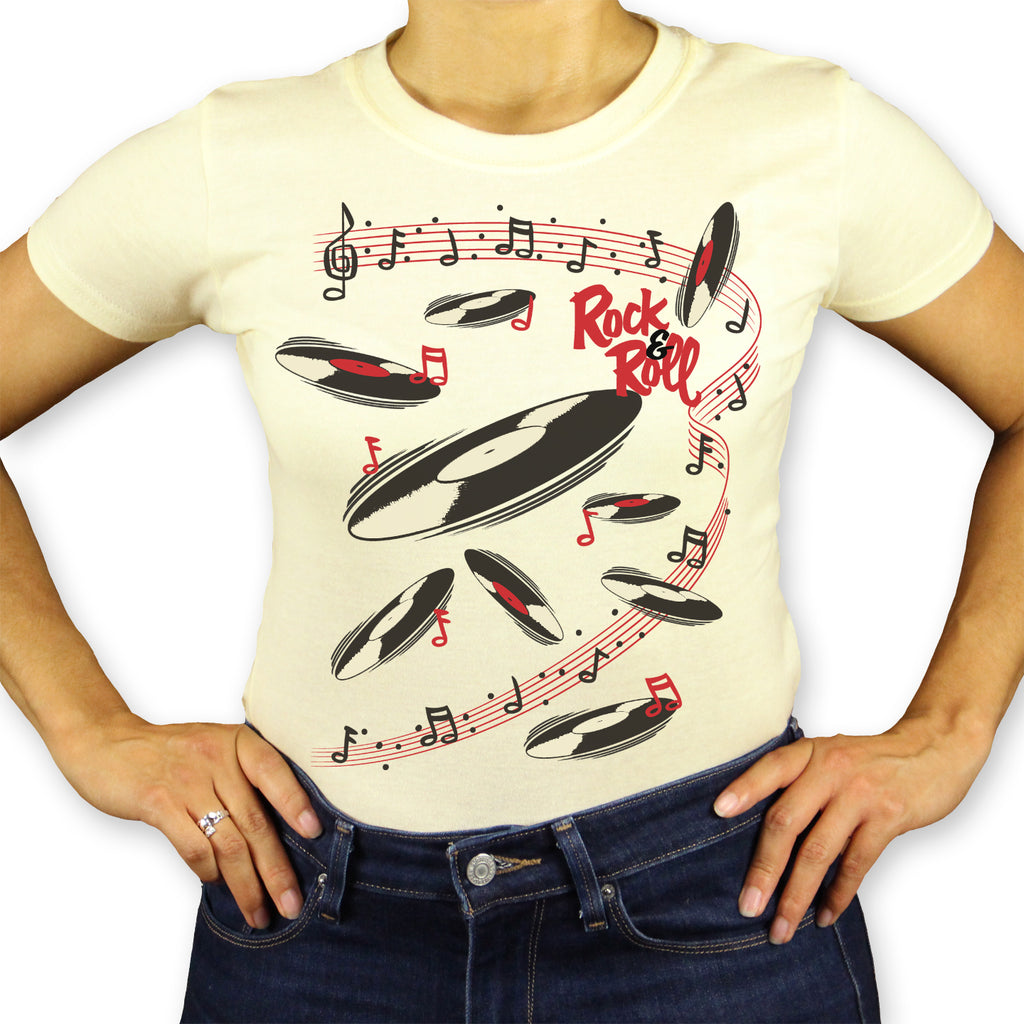 Rock N Roll Ladies T-Shirt