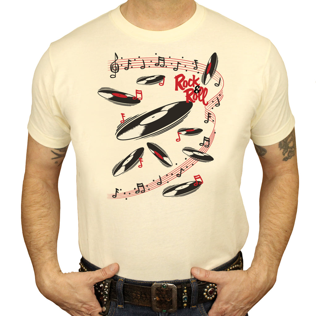 Rock N Roll Mens T-shirt