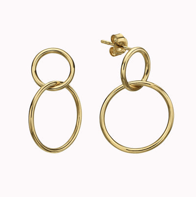 Loop Earrings Earrings Gold Vermeil Yellow Gold Vermeil