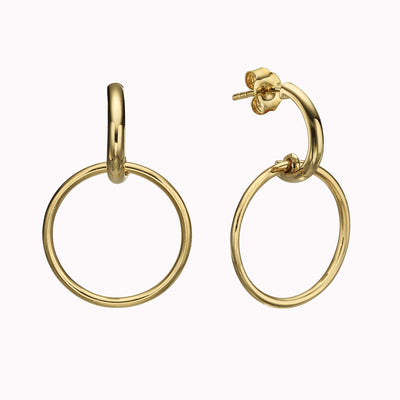 Open Loop Earrings - Magal jewelry