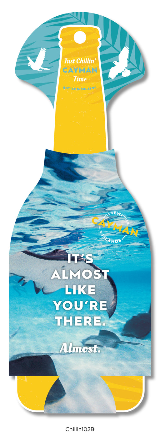 MIN 10 pc BOTTLE: It's Almost Like You're There: Stingray bottle - 10 per pack