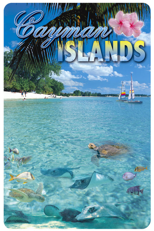 Playing Cards - Cayman Islands Design