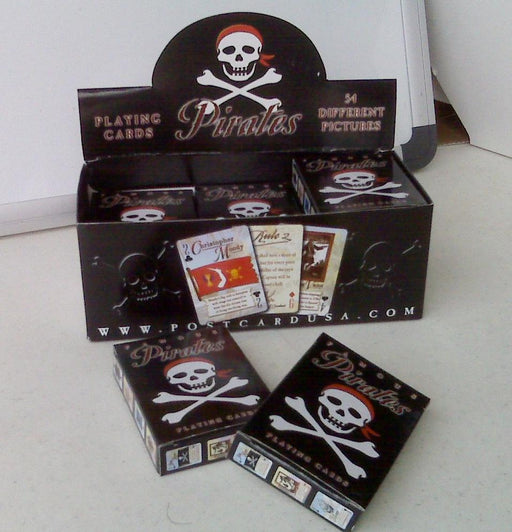 Playing Cards: Black Deck Pirates