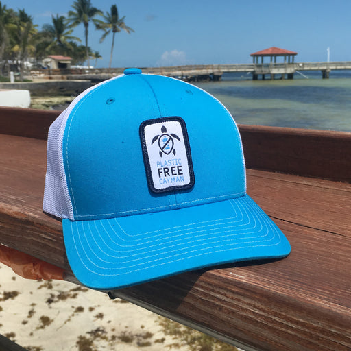 Limited Quanity Plastic Free Cayman Trucker Hat