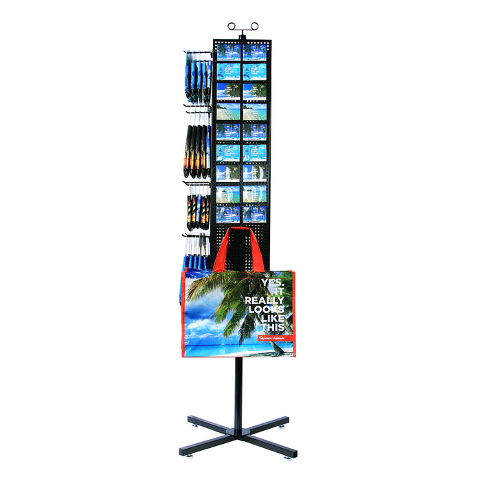 RACK: Tall Display rack with product