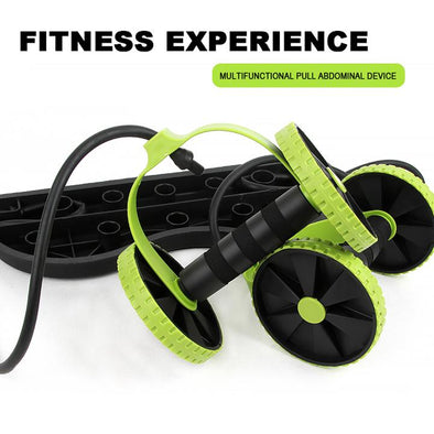 Ab Roller with Mat Trainer