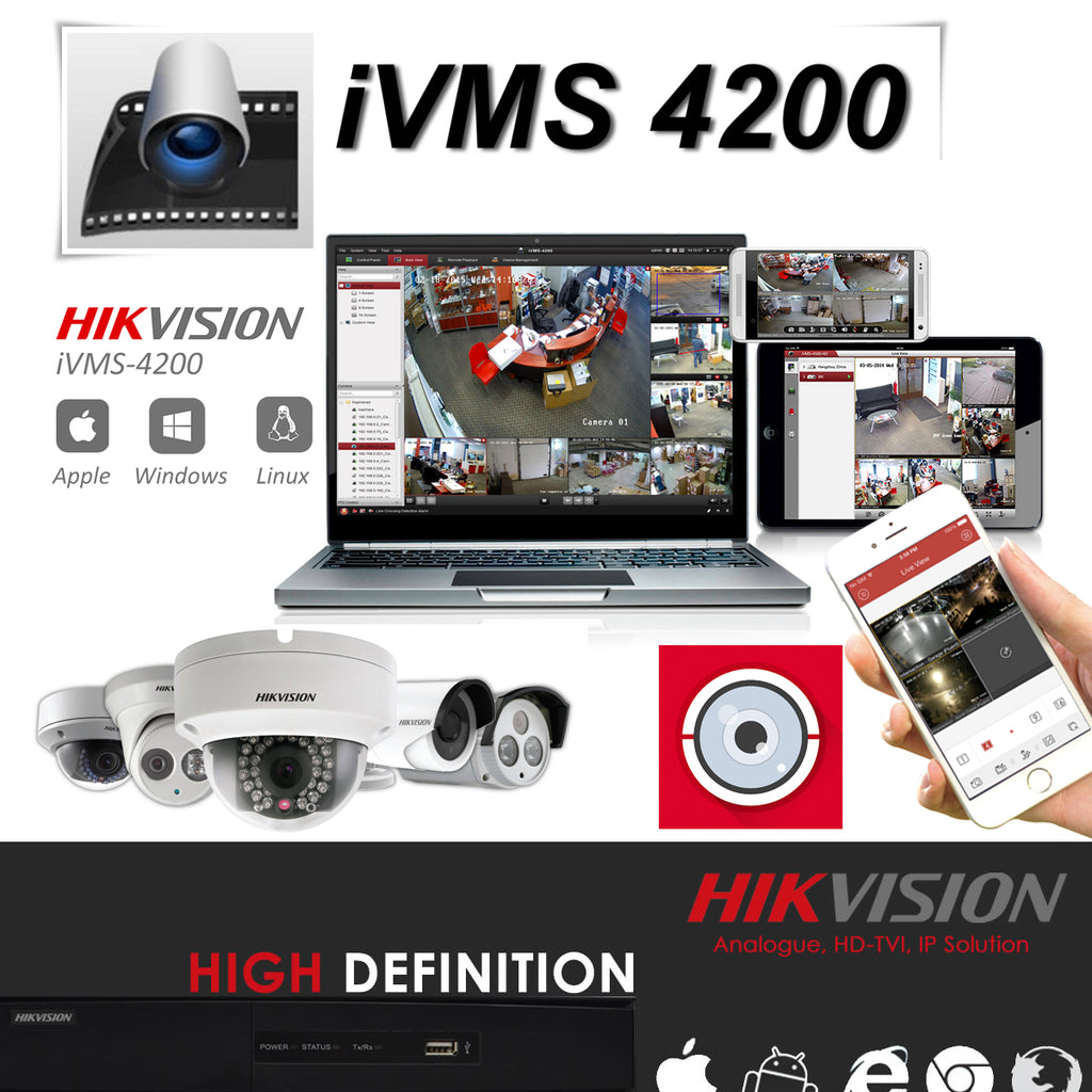 How to install iVMS-4200 for Hikvision DVRs on Mac OSX | Touch CCTV