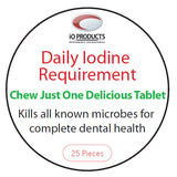 Daily Iodine Requirement Gum