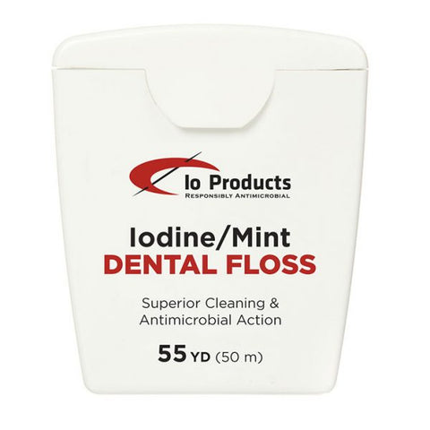 Our patent-pending system of delivering iodine to the bottom of your teeth - and to prevent ginvigitis and dental decay - is unsurpassed by any other dental floss on earth.