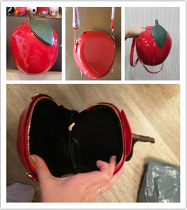 Apple Crossbody Purse