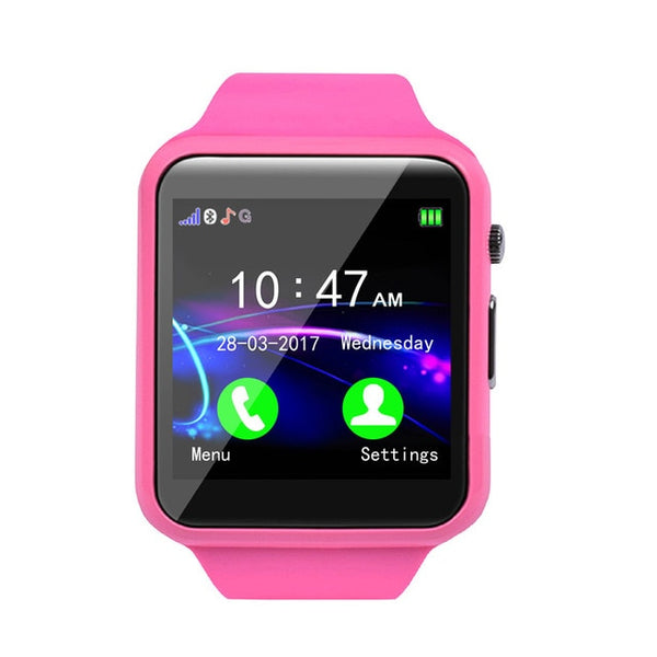 Android IOS Bluetooth Smart Watch