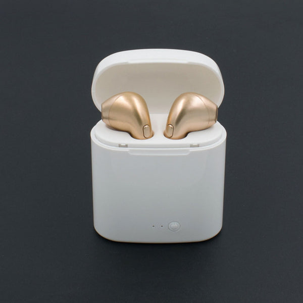 Wireless Headset Bluetooth Earpieces With Charging Box