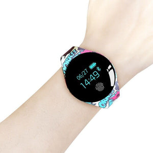 Color Fitness Touch Screen Motion Smartwatch For IOS Android