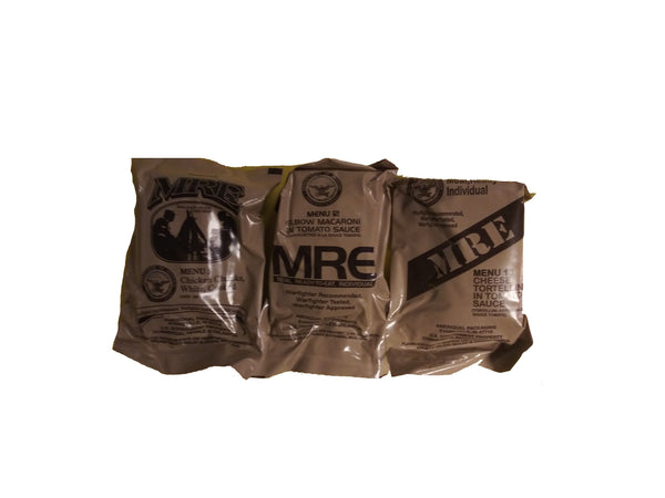 MRE US MILITARY Case A/B 3 Random Draw