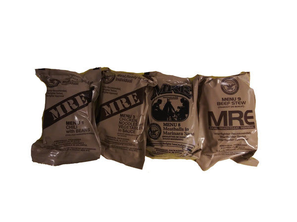 MRE US MILITARY Case A/B 4 Random Draw