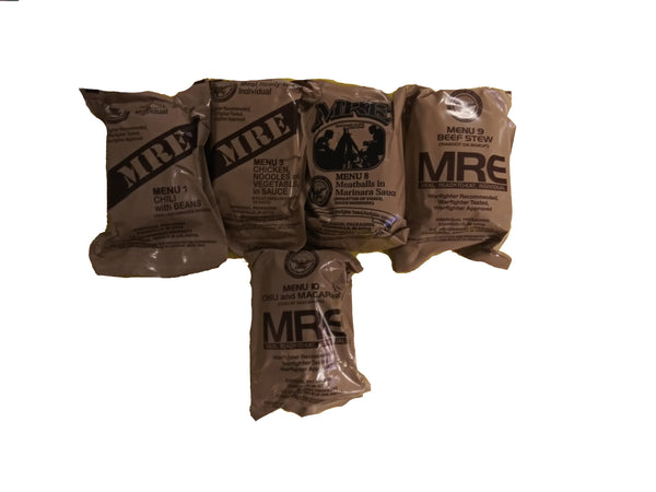 MRE US MILITARY Case A/B 5 Random Draw