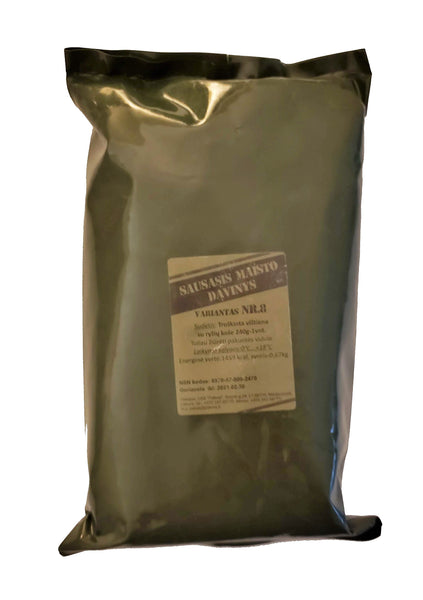 Lithuanian MRE Army military ration meal ready