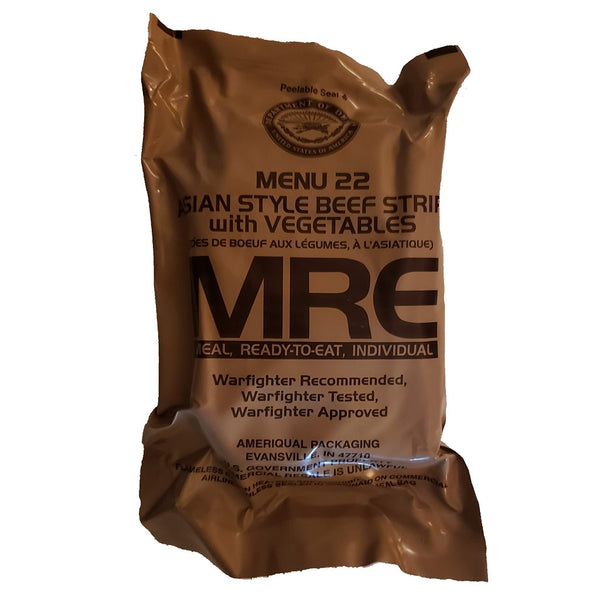 MRE Meal 22