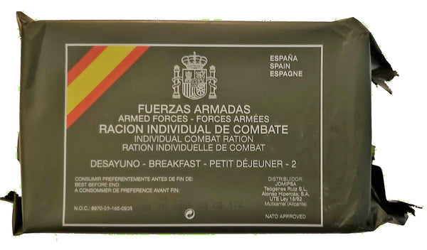 Spanish Breakfast, Spanish Armed Forces Individual Combat Ration