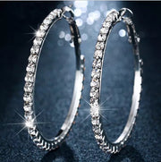 Ice Me Out Hoop Earrings