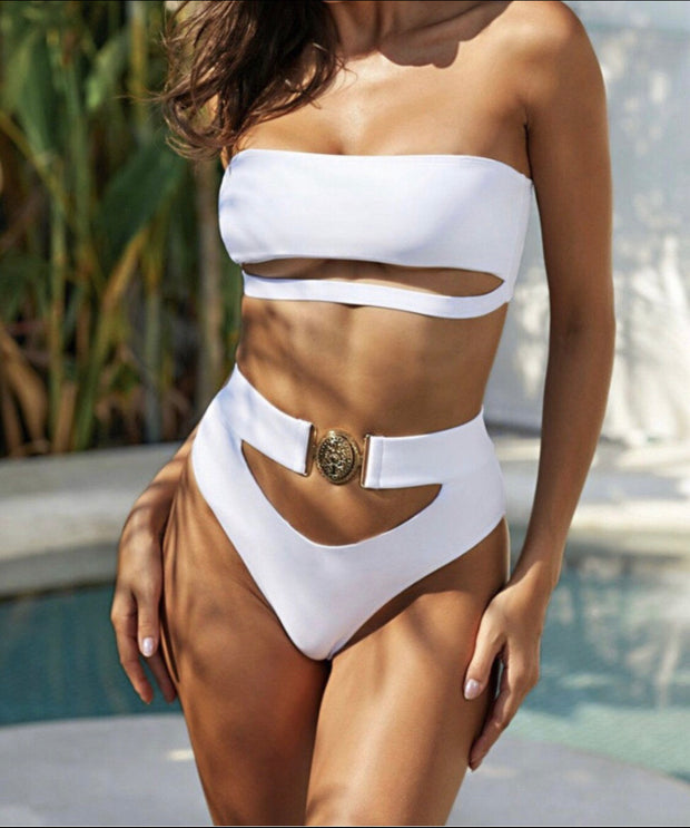 Natasha Buckle Up Swimwear