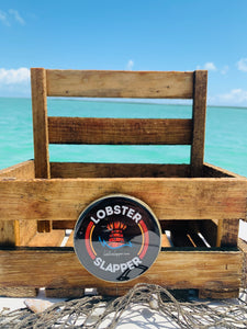 Lobster Trap Caddy Display w/ back