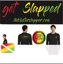 Kids Black Rasta Shirt UV Long Sleeve Tee