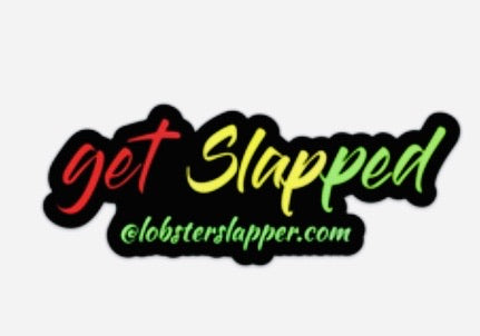 Get Slapped Rasta Bumper Sticker