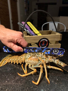 Blue Camo Lobster Slapper Gauge