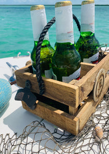 Handmade Lobster Slapper Trap Caddy w/ Bottle Opener