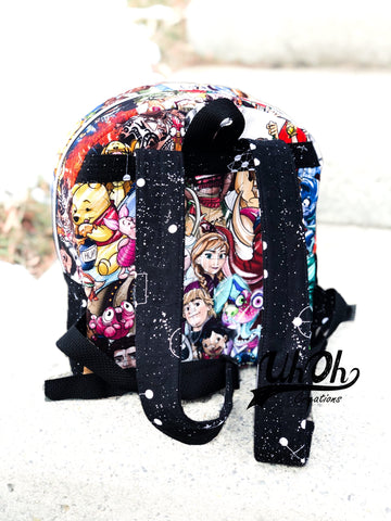 Bailey Backpack Back with Adult Straps