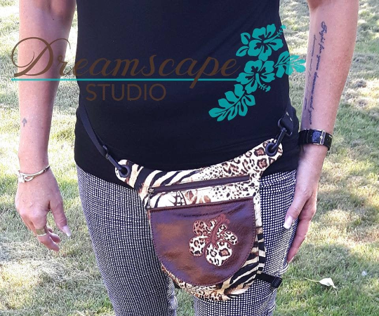 Charlie Holster Bag Pattern - PDF Download