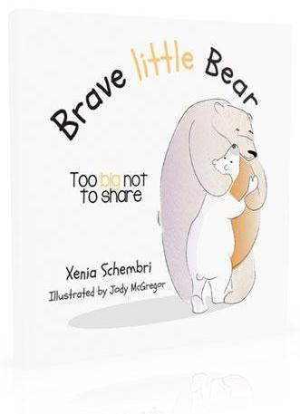 Brave Little Bear - Too Big Not To Share - Book two