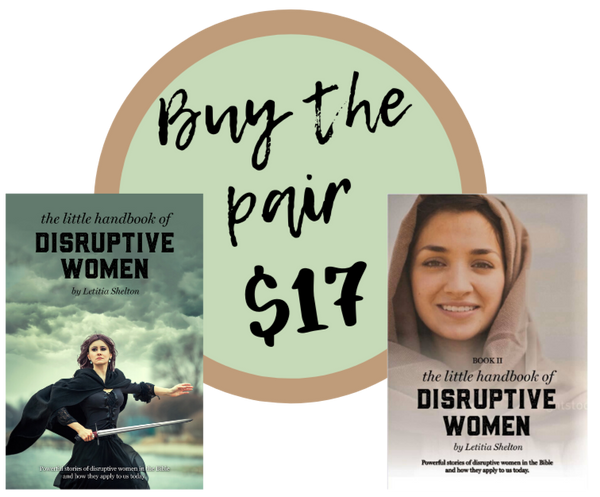 COMBO DEAL-  the little handbook of Disruptive Women Books 1 & 2