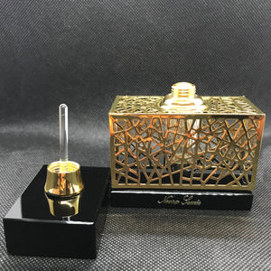 Black Cage - Perfume Bottle with Perfume Oil