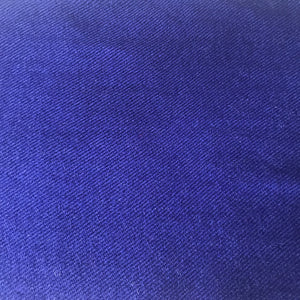persian blue merino wool scarf