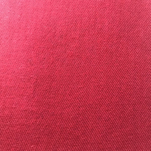 ruby red merino wool scarf