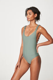 Rowie Holiday One Piece - Army