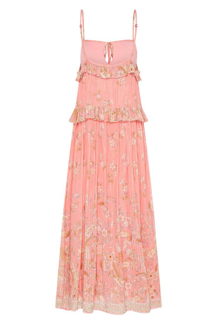 Spell Designs Hendrix Strappy Maxi Dress - Dusty Pink