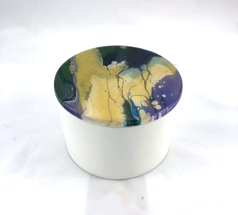 Marbled Trinket Box