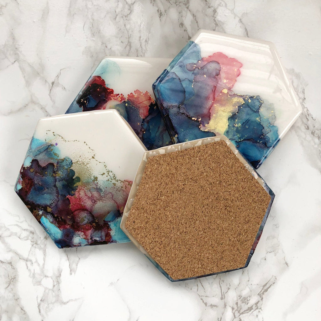 Watercolor Coasters - Choose Your Colors