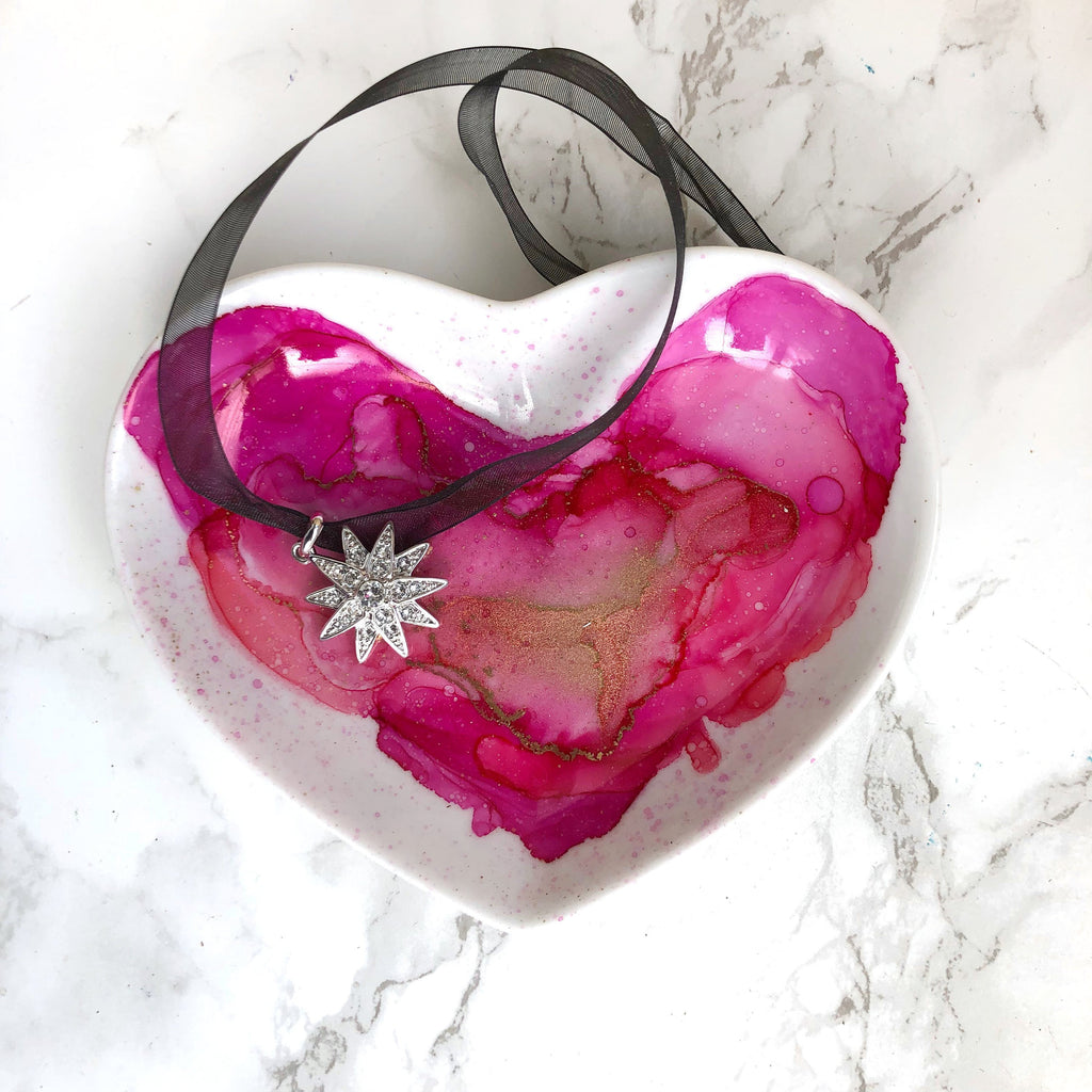 Heart Porcelain Ring Dish