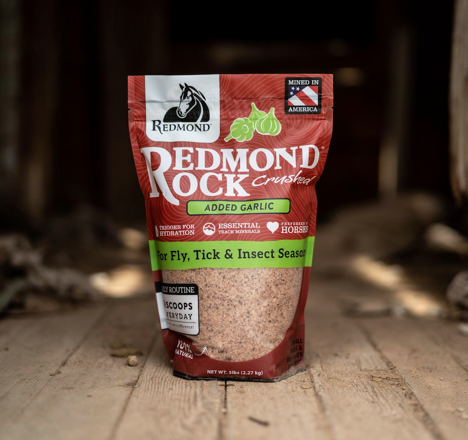 Redmond Rock Crushed with Garlic - NEW