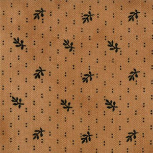 1045-14  Little Gatherings Honey Reproduction Little Leaf Tan