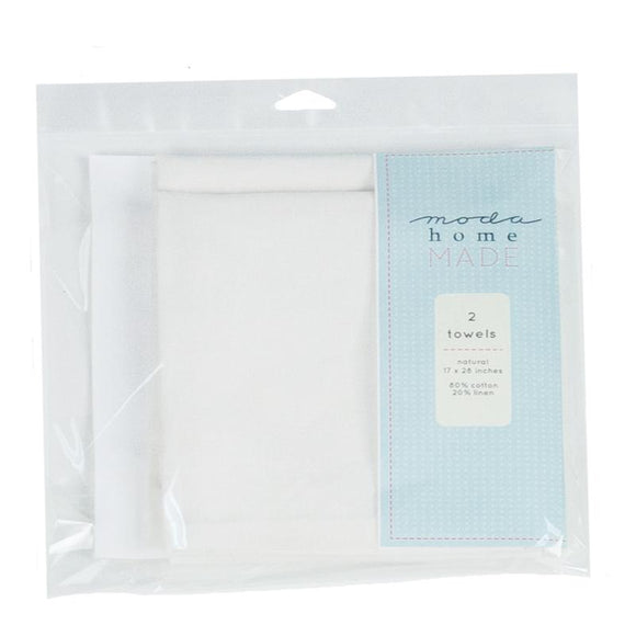 999 40 NATURAL TEA TOWEL / set of 2