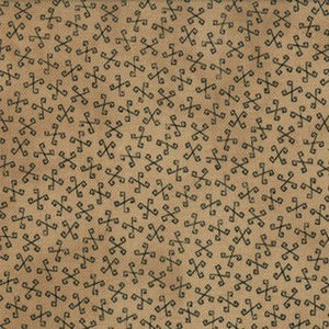 1089-11  Tan background with Twirls of Navy